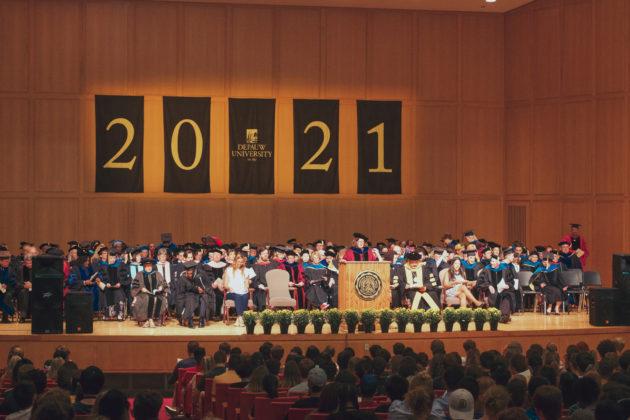 DePauw University class of 2021 opening convocation