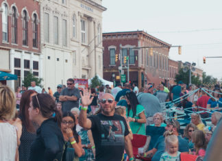 Greencastle and DePauw community meet at Greencastle Music Fest