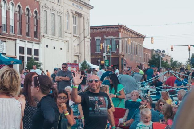 Greencastle and DePauw community meet at Greencastle Music Fest