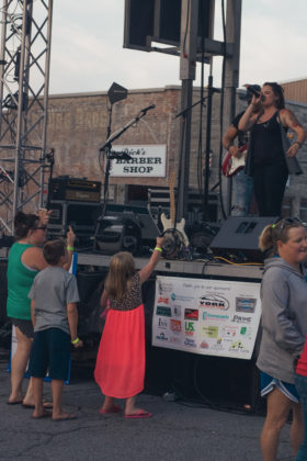 Southern County performs at 2017 Greencastle Music Festival