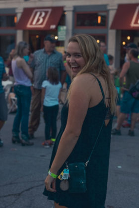 DePauw University students have fun at music festival