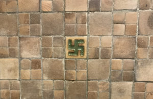 A Hindu symbol that resembles the Nazi Swastika located in the middle entrance of Asbury Hall - NATALIE BRUNINI (1 of 1)
